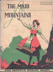 Maid of the Mountains 1939 - Cover(small)