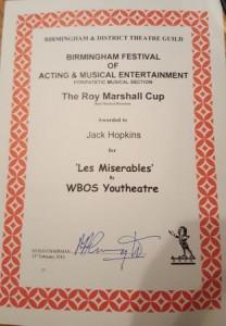 Jack Certificate
