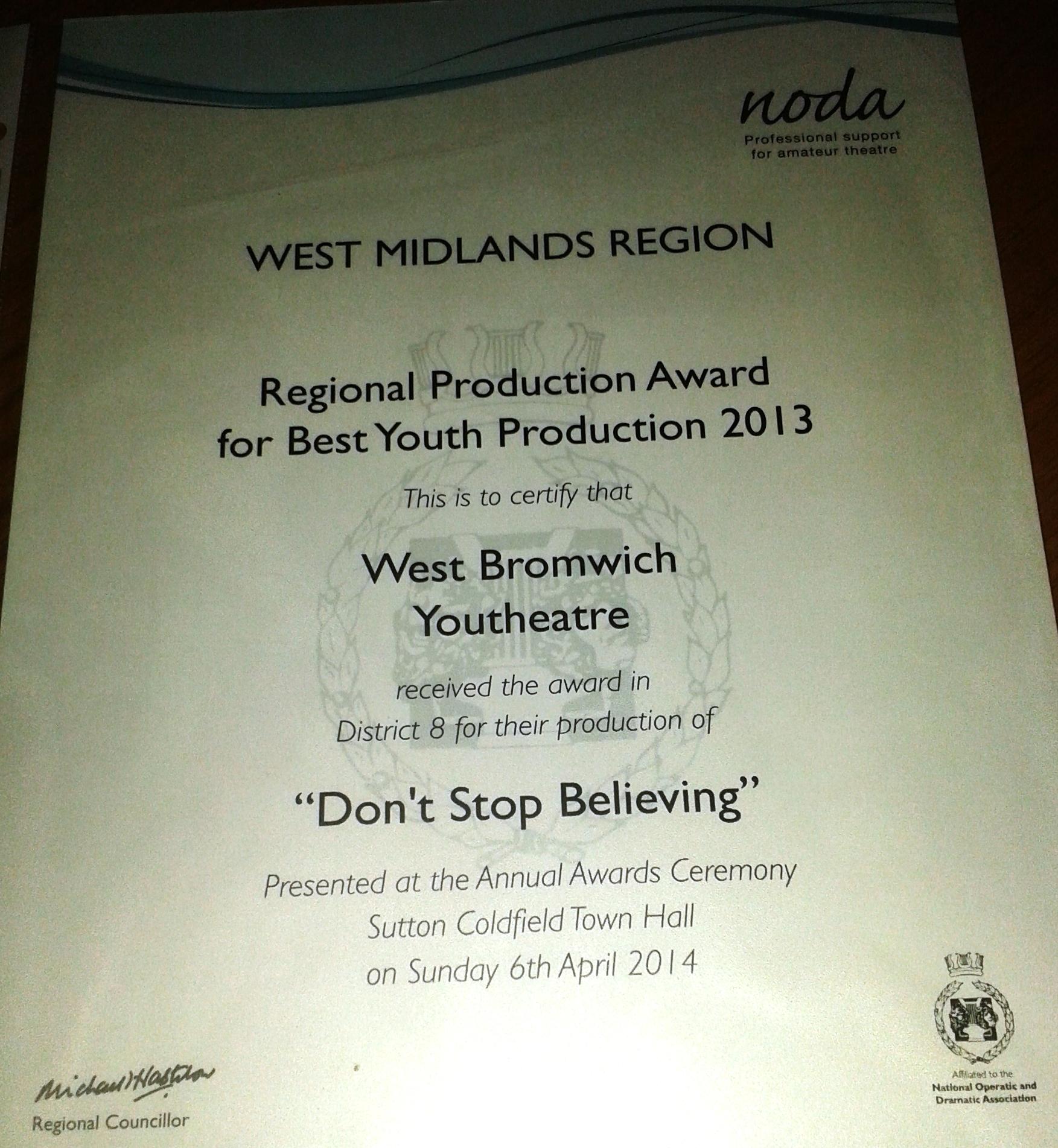 noda award